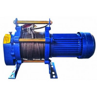 Тельфер (электрическая лебедка) 220В KCD 400/800кг 60метров (20-008)